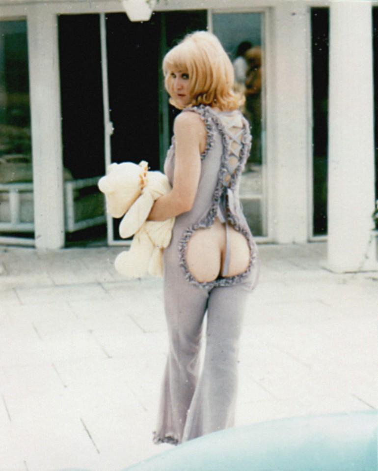 Madonna fesses nues
